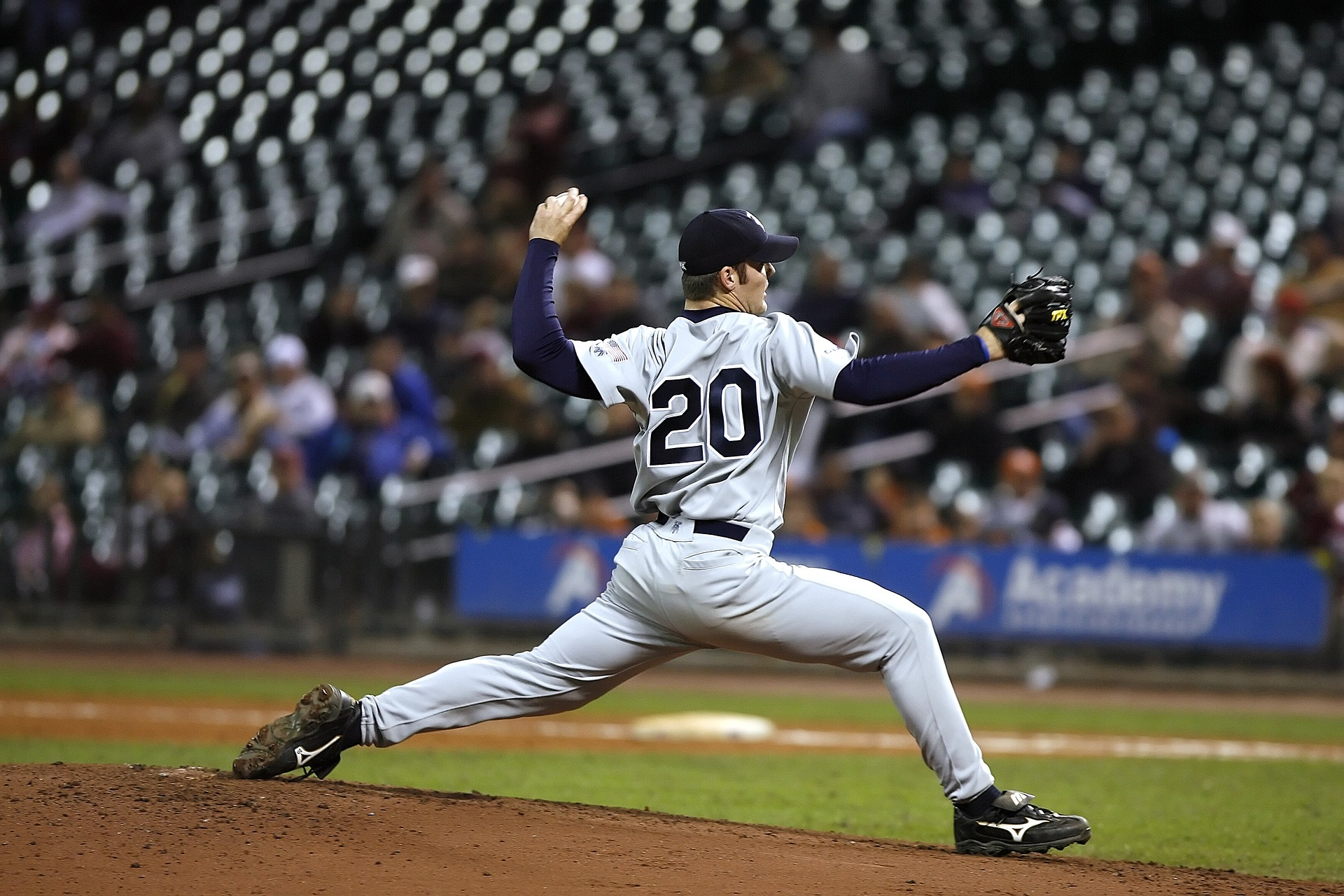 Baseball Player Pitching, which is commonly associated with rotator cuff injuries
